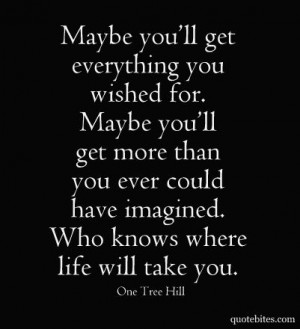 One Tree Hill! favorite-quotes