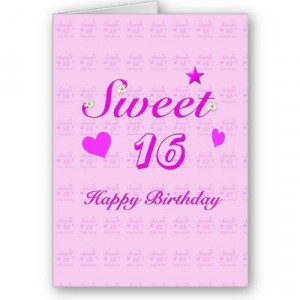 Sweet 16 Birthday Quotes . Celebrate both as their respective sweet ...