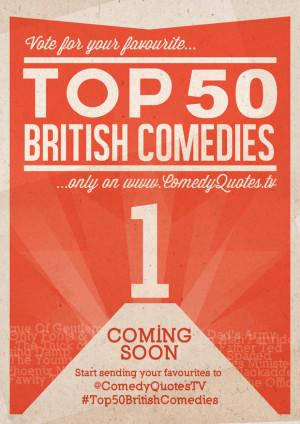 Top 50 Comedies British