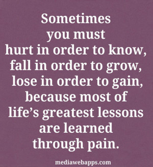 Images Quotes About Life And Love Lessons Learned Wallpaper
