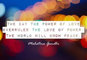 World Peace Quotes Gandhi Gandhi quote