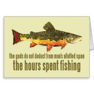 Fishing Sayings Cards & More