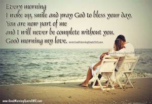 Morning Love Quotes for Good Morning Love Quotations Best Morning Love ...