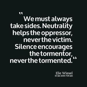 Always the Victim Quotes