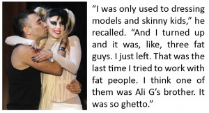 yup this quote actually happened nicola formichetti is quoted in w ...