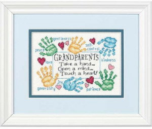 Handprint Quotes For Grandma http://www.123stitch.com/item/Dimensions ...