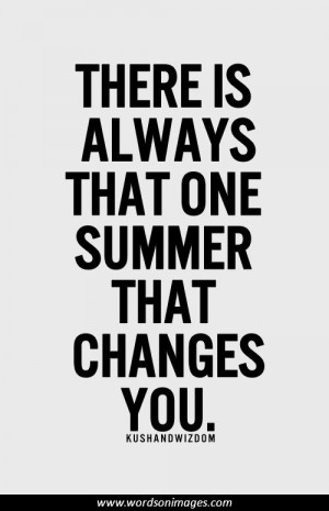 Inspirational quotes summer