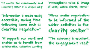 Quotes are from The Wheel's Member Survey, April 2014.)