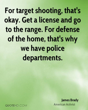 For target shooting, that's okay. Get a license and go to the range ...