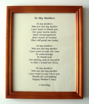 mothers happy quote poems mothers mothers poems mothers poems mothers ...