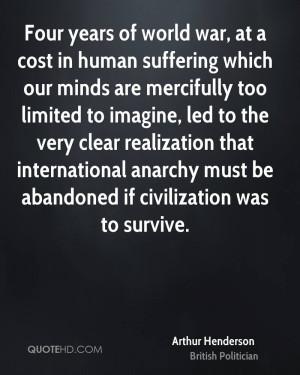 Arthur Henderson War Quotes