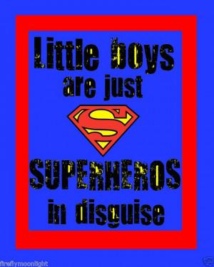 Little Boys Superhero