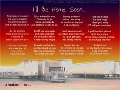 Poems About Truck Drivers | Wow... | Truck Driving More