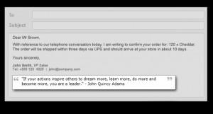 Random Quotes Email App