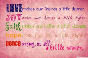 quotes about hope and love Faith hope joy love quotes