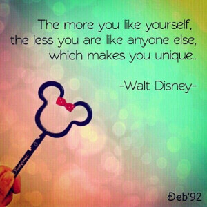 Walt disney, quotes, sayings, like yourself, famous, quote