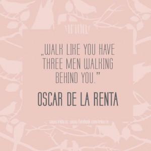 Oscar De La Renta Quotes