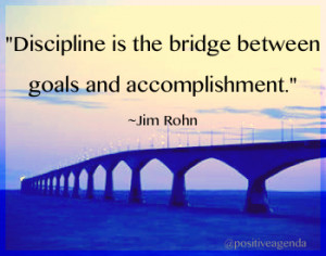 ... Between Goals And Accomplishment - Discipline Quote Share On Whatsapp