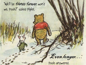 ... The Pooh And Piglet Quotes About Friendship Winnie the pooh and piglet