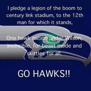 Seahawks, Fan Creed.