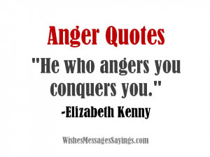 Quotes and Sayings About Anger