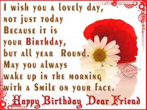 happy birthday dear friend happy birthday dear friend