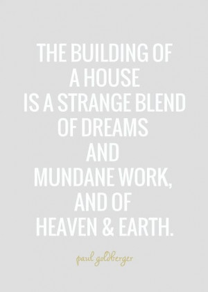 Home building quote