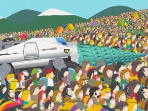 Cartman Hippy