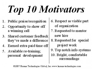 Here are the top 10 motivational factors for employee longevity, as ...