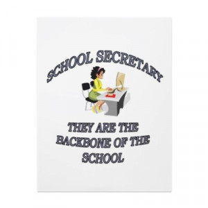 school secretary quotes SCHOOL SECRETARY FULL COLOR FLYER