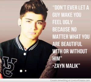 Zayn Malik Quotes About Love