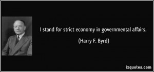 More Harry F. Byrd Quotes