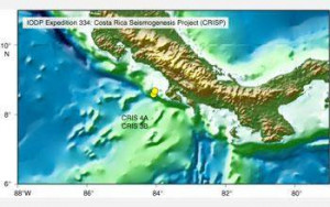 Clues to Japanese quake may lie off Costa Rica