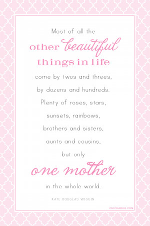 May 12, 2013 · Posted under holidays , Mother's Day , quotables
