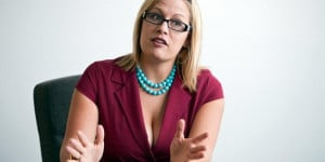 America's Most Colorful Congresswoman: Kyrsten Sinema - ELLE