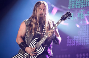 Zakk Wylde of Black Label Society performs on stage during the ...