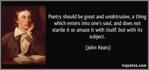 Famous Poets Quotes | John Keats