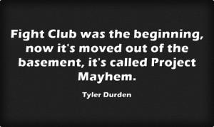 Tyler Durden line. #TylerDurden #quotes #fight #club #quotes