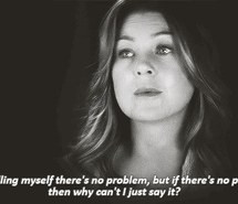 quotes, there's a problem, best show ever, meredith grey, greys ...