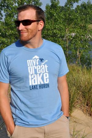 Lake Huron Unisex T-Shirt