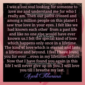 Found My True Love Quotes
