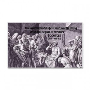 Death of Socrates : Famous Art Science Quotes Poster T Shirt Gift Shop