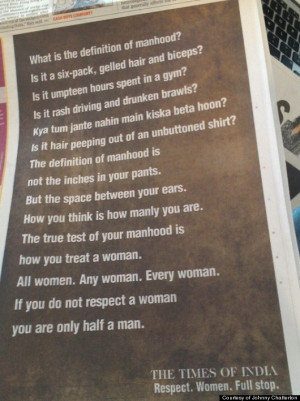 Real Men Treat Women With Respect Quotes Respect a woman,