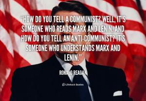 Ronald Reagan Communism Quotes