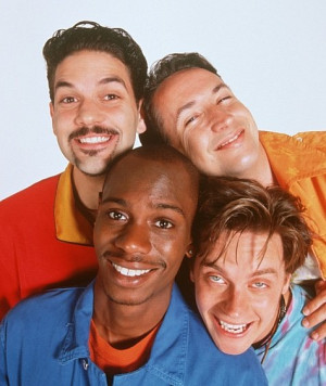 Harland Williams, Jim Breuer, Dave Chappelle and Guillermo Díaz in ...