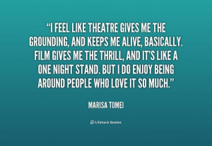 Marisa Tomei #quote