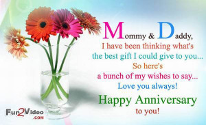 Anniversary wishes for parents and anniversary quotes to say happy ...