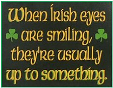 irish eyes sm Funny Irish Words And Phrases