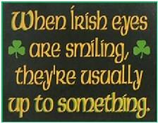 irish eyes sm Funny Irish Words And Phrases
