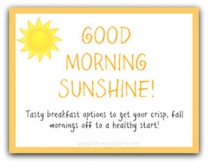 Healthy Breakfast Quotes